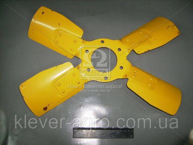 Вентилятор системы охлаждения Д 240 метал. 4 лопаст. (пр-во ММЗ)