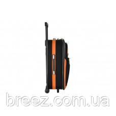 Чемодан Bonro Style средний чёрно-тёмносиний, фото 2