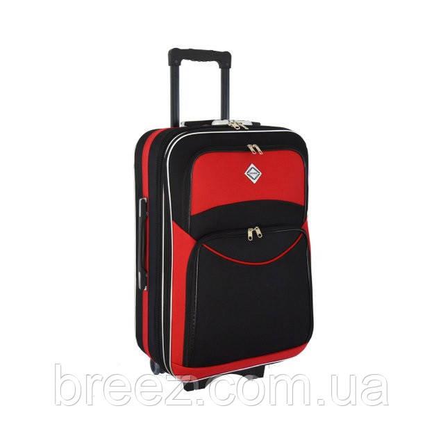 Чемодан Bonro Style большой чёрно-красный