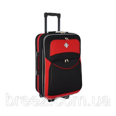 Чемодан Bonro Style большой чёрно-красный, фото 2