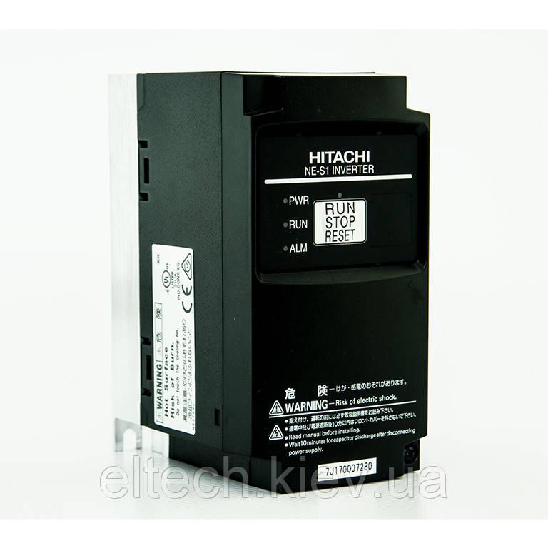 Преобразователь частоты Hitachi NES1-004SBE, 0.4кВт, 220В