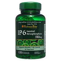 Інозитол, IP-6 Inositol Hexaphosphate 510 mg, Puritan's Pride, 120 капсул, фото 1