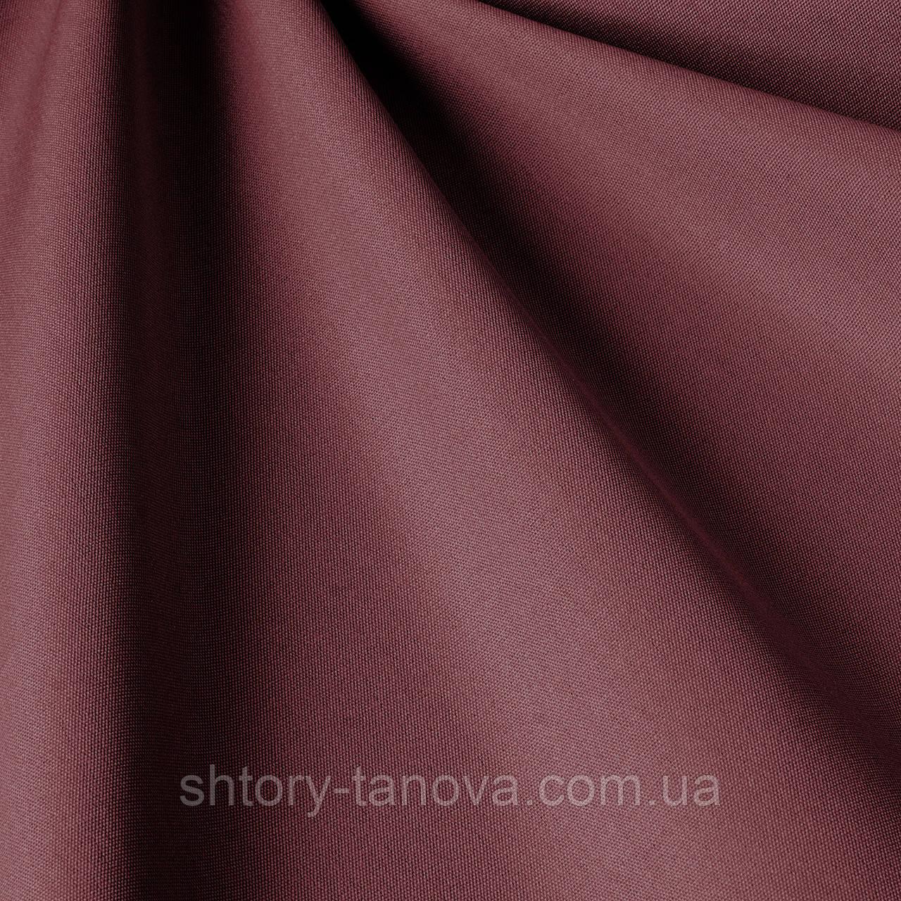 Однотонна вулична тканина темно-фіолетового кольору