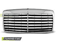 Решетка радиатора Mercedes W124 дорестайлинг стиль Avantgarde