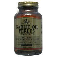 Чесночное масло (Garlic Oil Perles), Solgar, 250 капсул