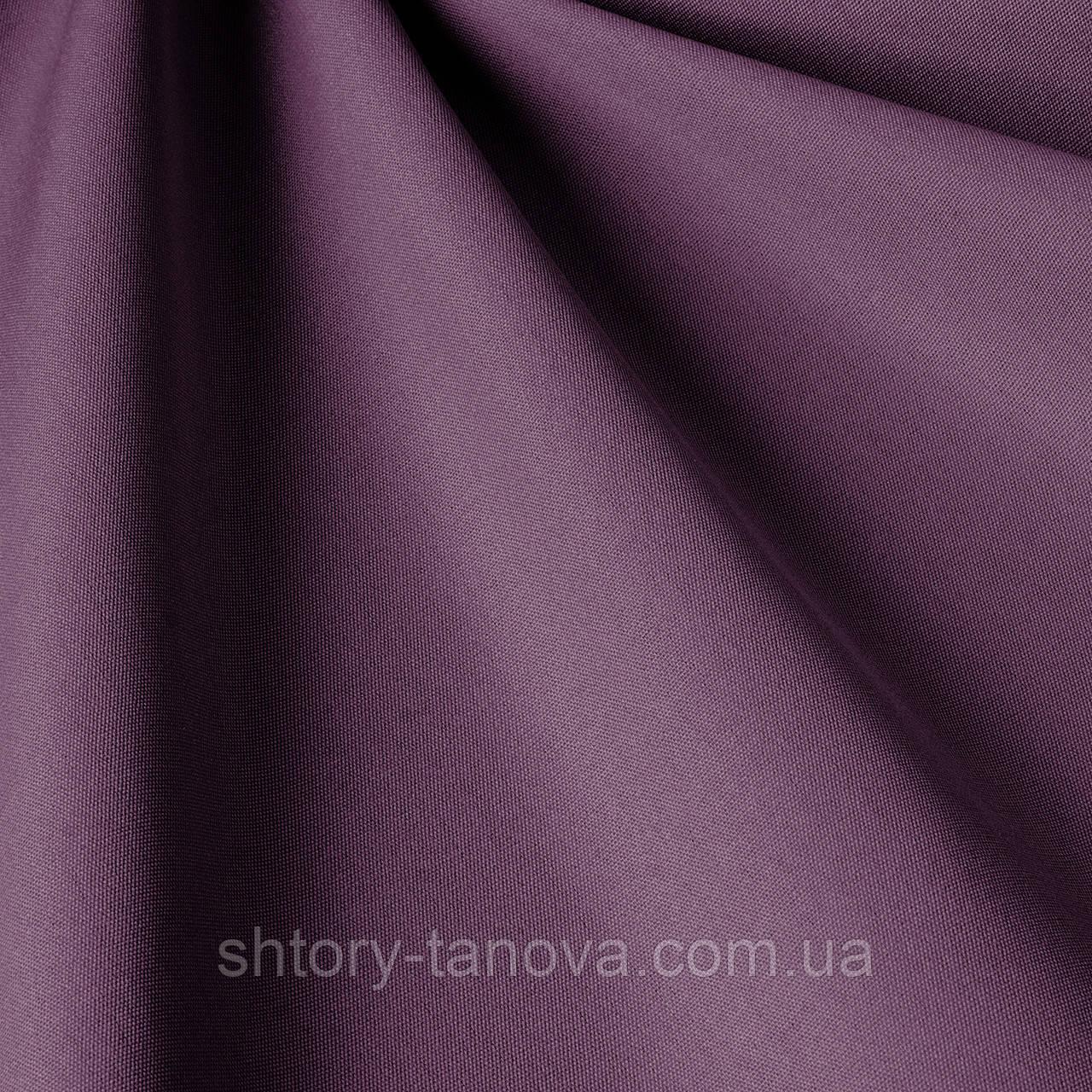 Однотонна тканина для вулиці темно-фіолетового кольору
