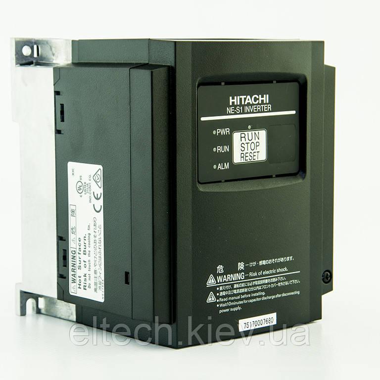 Однофазный преобразователь частоты Hitachi NES1-015SBE, 1.5кВт, 220В