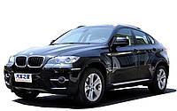 Машинка на радиоуправлении лицензионная BMW X6 черная (машинки на пульте управления), фото 1
