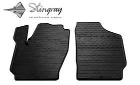 Передние коврики в салон Skoda Fabia 2000-2007 Stingray 1020152