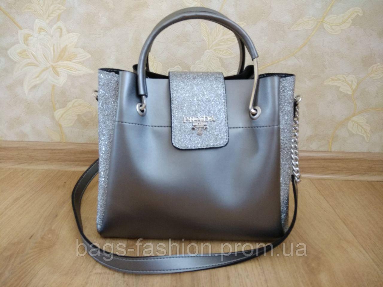 7b41c1ccce26 Женская сумка-шоппер Prada (реплика), цена 750 грн., купить в ...