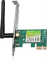 Беспроводный адаптер TP-LINK TL-WN781ND  (150Mbps, PCI-E, 1 съемная антенна)