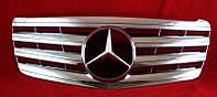 Решетка радиатора тюнинг Mercedes W211 FL стиль AMG