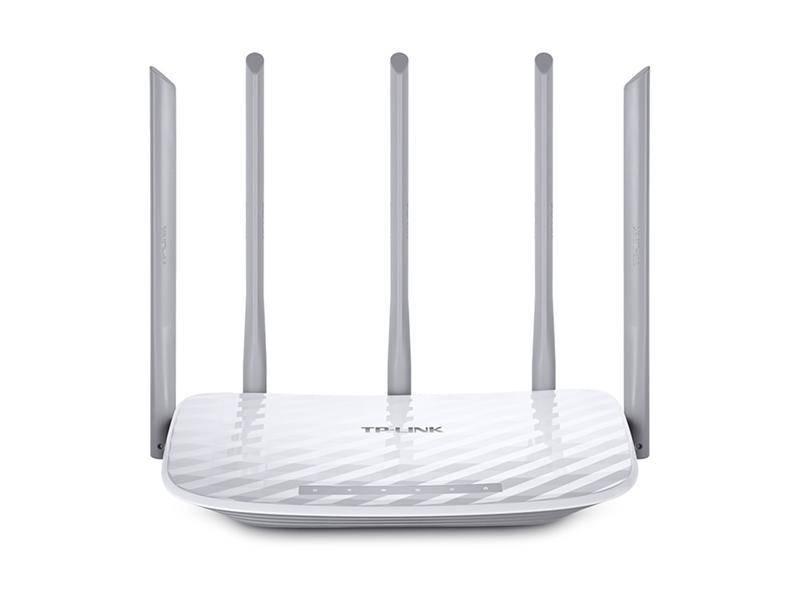 Беспроводной маршрутизатор TP-LINK Archer C60 (AC1300, 1*Wan, 4*LAN, 5 антенн)
