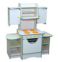 Кухня детская игровая с МДФ накладками (111 см)