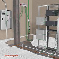 Вимірювання опору перехідних контактів кіл захисних пристроїв (металозв'язок)