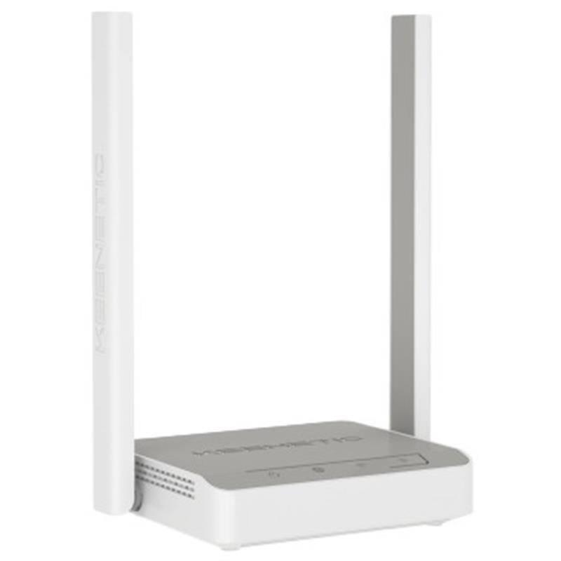 Беспроводной маршрутизатор KEENETIC Start (KN-1110) (N300, 4xFE, 2 антенны)