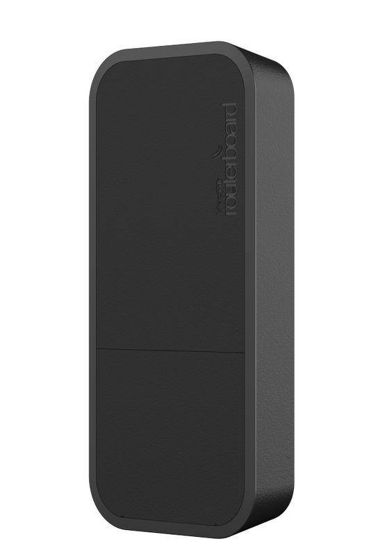 Точка доступа MikroTik wAP Black (RBwAP2nD-BE) (N300, 650MHz/64Mb, 1х100Мбит, антенна 2дБи, всепогодный черный корпус)