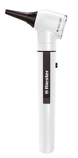Отоскоп  e-scope® фіброоптичний, LED 3,7 В, чорний, у кейсі