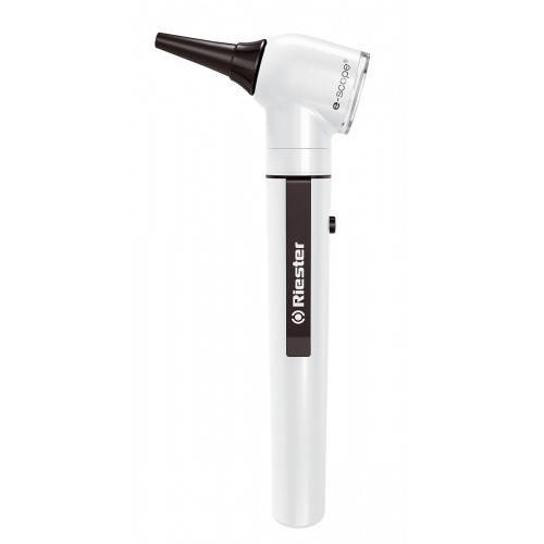 Отоскоп e-scope® фіброоптичний отоскоп / офтальмоскоп XL 2,5 В, чорний, у кейсі