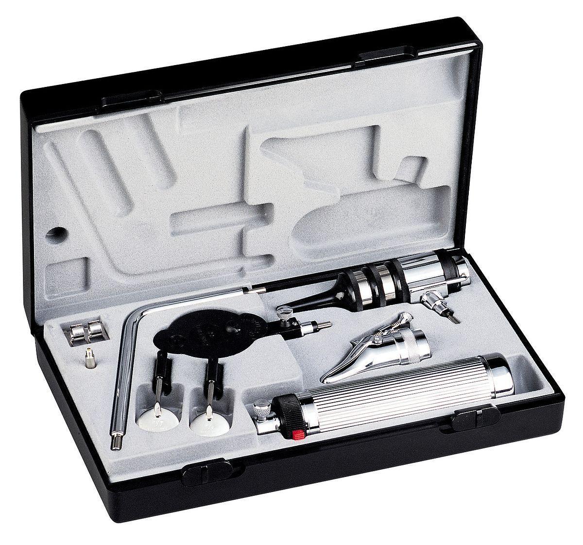 Отоскоп econom®, вакуум 2,7 В/ XL 2,5 В, С-ручка