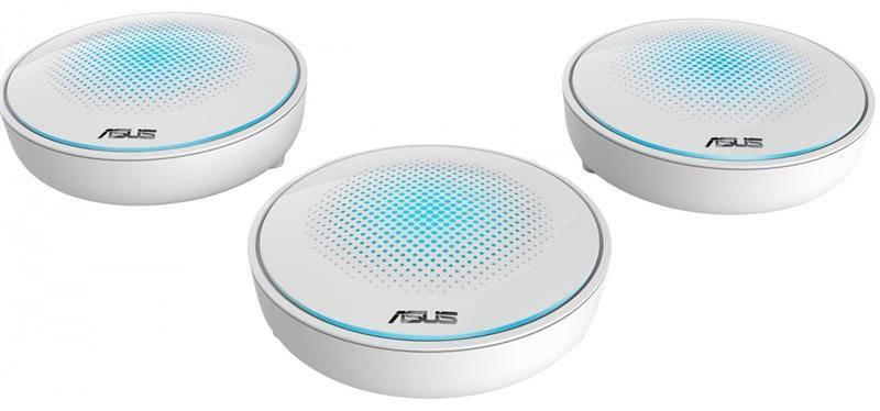 Wi-Fi Mesh система ASUS Lyra MAP-AC2200 (AC2200, MESH, комплект из 3-х точек)