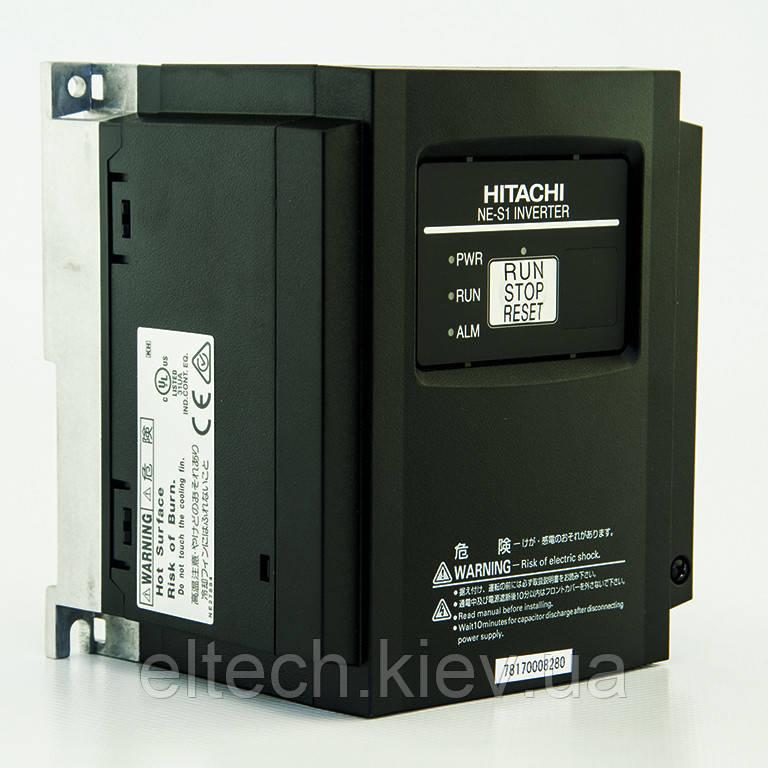 NES1-004HBE, 0.4кВт, 380В. Преобразователь частоты Hitachi