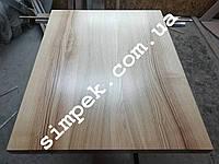 Мебельный щит цельноламельный ясень 40 мм сорт А/В