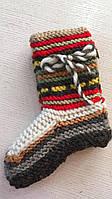 Шкарпетки тапочки в'язані шерстяні розмір універсальний