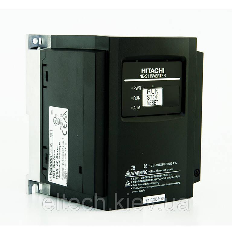 Частотник Hitachi NES1-007HBE, 0.75кВт, 380В