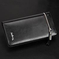 Мужской кошелек Baellerry Italia черный, фото 1