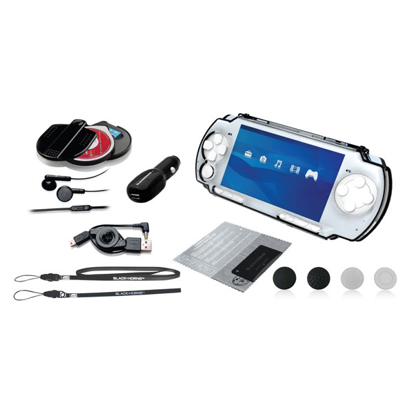 Набор для psp 3000 BlackHorns Crystal Elite 12 в 1 (BH-PSP02612H)