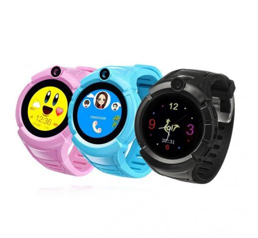 Детские умные часы Q360 (610) с GPS трекером смарт smart watch