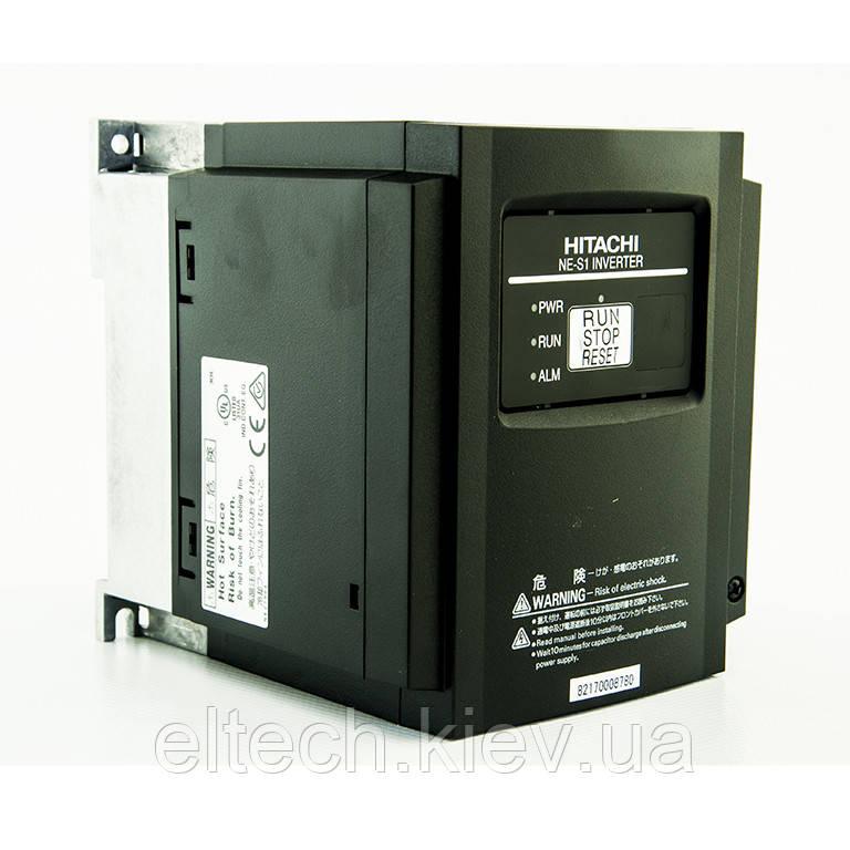 Трёхфазный преобразователь частоты Hitachi NES1-022HBE, 2.2кВт, 380В