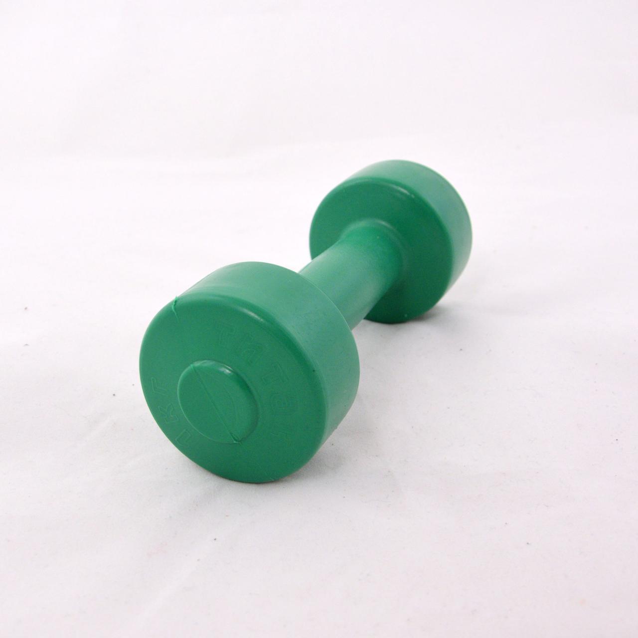 Гантели для фитнеса пластиковые цельные (неразборные) OSPORT Титан 1 кг (FI-0094-1)