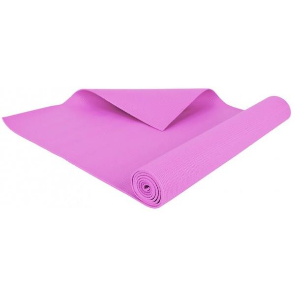 Килимок-Мат для йоги та фітнесу OSPORT ПВХ 3 мм (FI-0100) Рожевий