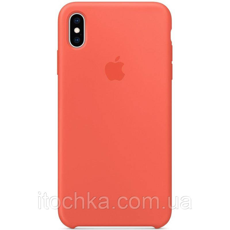 Silicone case for iPhone XS Max Orange (Copy)