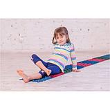 Детский массажный коврик пазл для стоп (ортопедический, резиновый) Onhillsport 8 шт (MS-1209-3), фото 3
