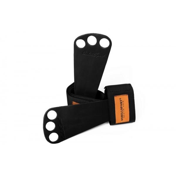 Гимнастические накладки для турника, на гриф кожаные Onhillsport (OS-0380)