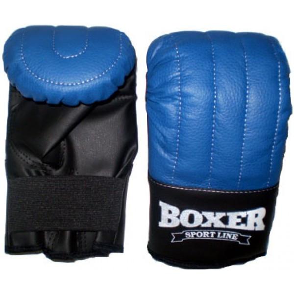 Рукавиці Тренувальні з кожвинила Boxer L (bx-0023)
