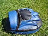 Лапы боксерские (для бокса) гнутые из кожвинила Boxer (bx-0025), фото 2