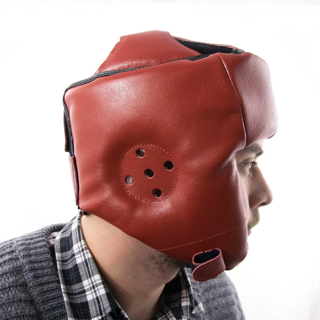 Шолом карате шкіряний Boxer L (bx-0069)