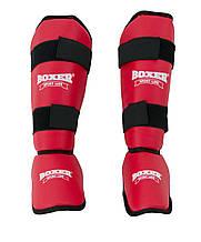 Защита голени и стопы из кожзама Элит Boxer M (bx-0046)