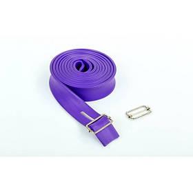 Еластичний джгут спортивний Zelart (TA-3936-2,5) Фіолетовий