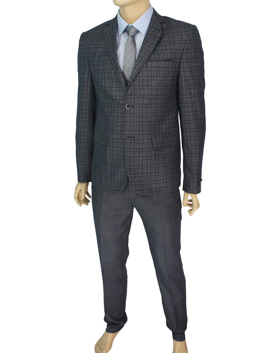 Чоловічий класичний костюм трійка Daniel Perry 224 C: 1 TR.