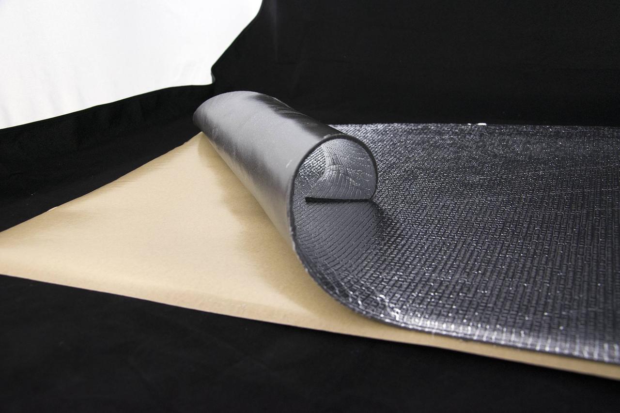 Тепло і шумоізоляція сплен з фольгою 800х500х4мм SoundProOFF (sp-splen-4fl)