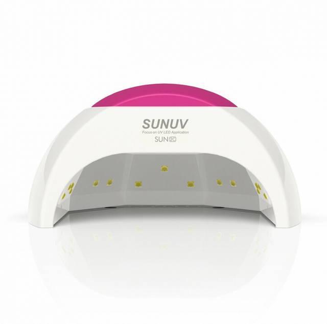 Лампа для манікюру SUN 2 C 48W LED+UV гібридна сан 48Вт.