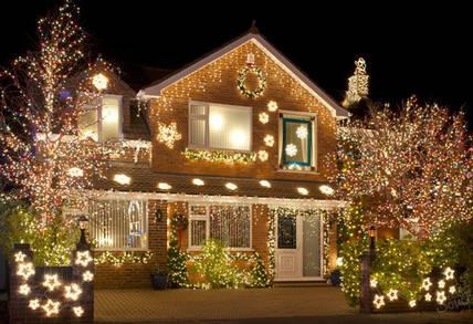 Как украсить дом перед Новым Годом