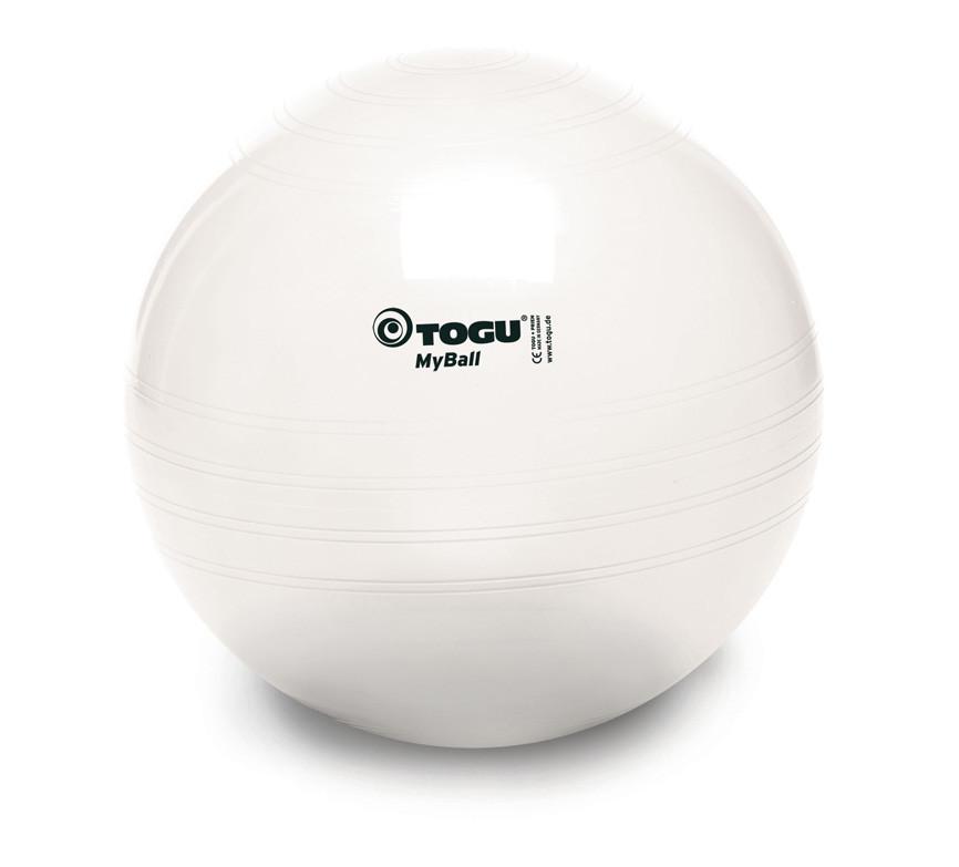 Мяч для фитнеса (фитбол) TOGU MyBall 55см (415600) Жемчужно-белый
