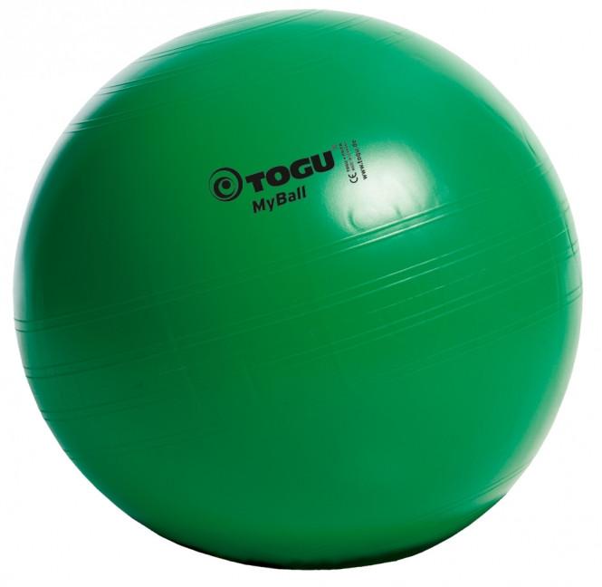М'яч для фітнесу (фітбол) TOGU MyBall 55см (415600) Зелений