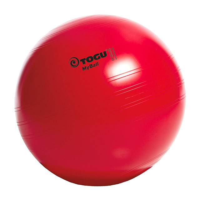 М'яч для фітнесу (фітбол) TOGU MyBall 75см (417600) Червоний